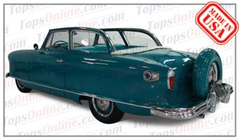 Convertible Tops & Accessories:1950 thru 1954 Rambler Nash Custom 2 Door Convertible