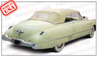 Convertible Tops & Accessories:1950 thru 1952 Buick Roadmaster 76c & Super 56c