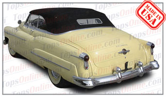 Convertible Tops & Accessories:1950 and 1951 Oldsmobile Futuramic 98 & Futuramic 98 Deluxe