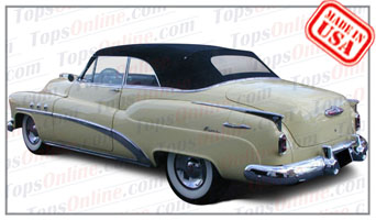 Convertible Tops & Accessories:1951 thru 1952 Buick Special Deluxe 46c