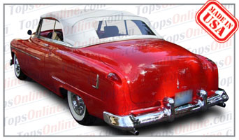 Convertible Tops & Accessories:1951 and 1952 Oldsmobile Super 88, Super 88 Deluxe & 98