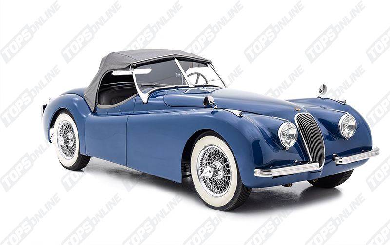 Convertible Tops & Accessories:1949 thru 1951 Jaguar XK120 Roadster