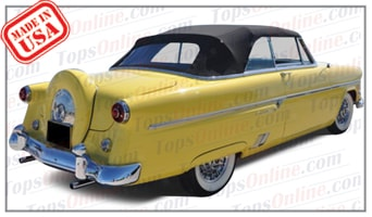 Convertible Tops & Accessories:1952 thru 1954 Ford Crestline Sunliner