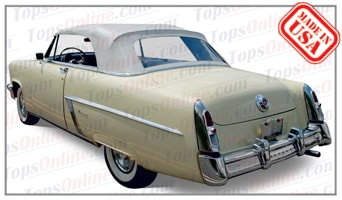 Convertible Tops & Accessories:1952 thru 1954 Mercury Monterey