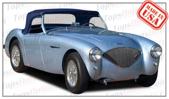 Convertible Tops & Accessories:1953 thru 1956 Austin Healey Roadster 100-4 BN1-BN2 & 100M BN2
