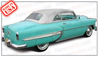 Convertible Tops & Accessories:1953 and 1954 Chevy Bel Air & Deluxe