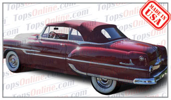 Convertible Tops & Accessories:1953 thru 1954 Pontiac Chieftain & Star Chief