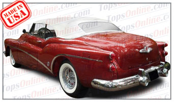 Convertible Tops & Accessories:1953 Buick Roadmaster 76c, Skylark & Super 56c