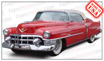 Convertible Tops & Accessories:1953 Cadillac Eldorado