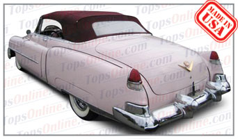 Convertible Tops & Accessories:1953 Cadillac Series 62 Convertible
