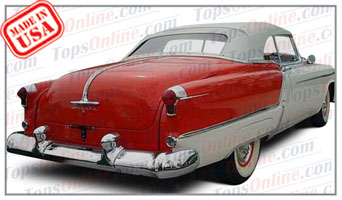 Convertible Tops & Accessories:1953 Oldsmobile Fiesta 98