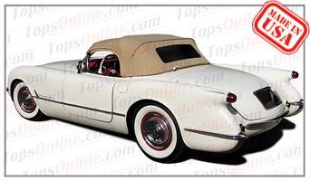 Convertible Tops & Accessories:1953 thru 1955 Chevy Corvette