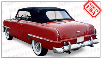 Convertible Tops & Accessories:1953 and 1954 Plymouth Belvedere & Cranbrook