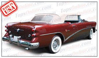 Convertible Tops & Accessories:1954 thru 1956 Buick Century 66c, Skylark & Special 46c