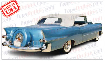 Convertible Tops & Accessories:1954 thru 1956 Cadillac Eldorado, Eldorado Biarritz & Series 62