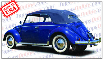 Convertible Tops & Accessories:1954 thru 1957 Volkswagen Beetle