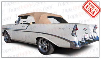 Rubber Weather Seals:1955 thru 1957 Chevy Bel Air Convertible
