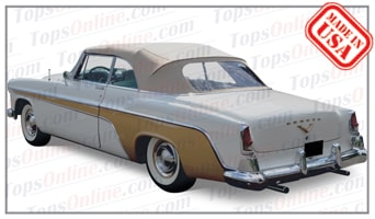 Convertible Tops & Accessories:1955 and 1956  Desoto Firedome & Fireflite