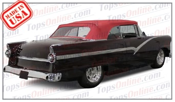Convertible Tops & Accessories:1955 and 1956 Ford Fairlane Sunliner
