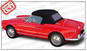 Convertible Tops & Accessories:1956 thru 1959 Alfa Romeo Giulietta Spider & Spider Veloce (750 Series)