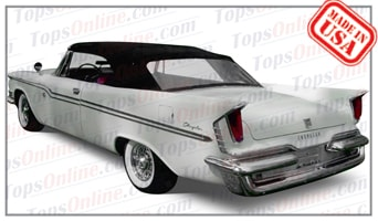 Convertible Tops & Accessories:1957 thru 1959 Chrysler 300, New Yorker & Windsor