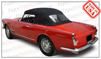 Convertible Tops & Accessories:1957 thru 1959 Alfa Romeo Spider 2000 (2 Passenger, 2-Liter)
