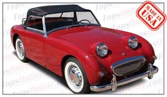 Convertible Tops & Accessories:1958 thru 1960 Austin Healey Sprite MK I, Bug Eye