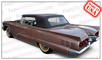 Convertible Tops & Accessories:1958 thru 1960 Ford Thunderbird & T-Bird