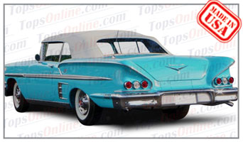 Convertible Tops & Accessories:1958 Chevy Impala