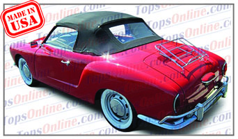 Rubber Weather Seals:1956 thru 1966 Volkswagen Karmann Ghia Convertible