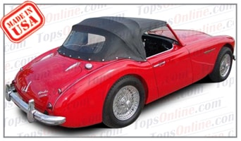 Convertible Tops & Accessories:1959 thru 1962 Austin Healey Roadster 3000 BT7 Mark 1 & Mark 2