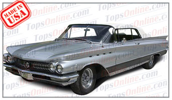 Rubber Weather Seals:1959 thru 1960 Buick Electra, Invicta & Lesabre Convertible