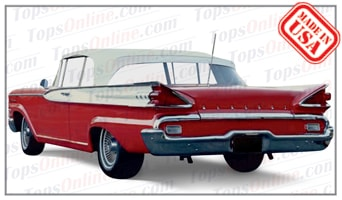 Convertible Tops & Accessories:1959 and 1960 Mercury Monterey & Parklane