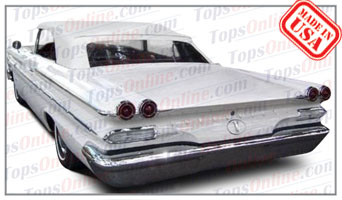 Convertible Tops & Accessories:1959 thru 1960 Pontiac Bonneville, Catalina & Parisienne