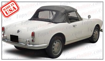 Convertible Tops & Accessories:1959 Alfa Romeo Giulietta Veloce (101 Series Long Wheelbase)