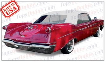 Convertible Tops & Accessories:1960 and 1961 Chrysler Imperial Crown