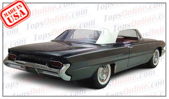 Convertible Tops & Accessories:1961 thru 1964 Buick Invicta, Lesabre & Wildcat