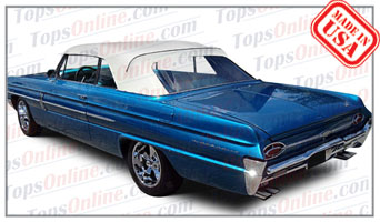 Convertible Tops & Accessories:1961 thru 1964 Oldsmobile Eighty-Eight, Dynamic 88, Jetstar 88, Starfire & Super 88
