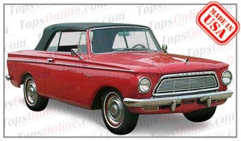 Convertible Tops & Accessories:1961 thru 1963 American Custom, American 400 & American 440