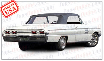 Convertible Tops & Accessories:1961 thru 1963 Oldsmobile 98 & Ninety Eight