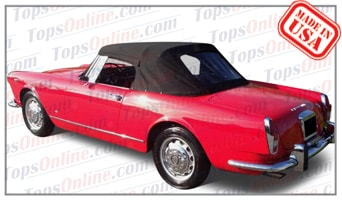 Convertible Tops & Accessories:1962 thru 1966 Alfa Romeo Spider 2600