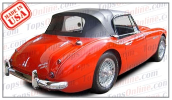 Convertible Tops & Accessories:1962 and 1963 Austin Healey Roadster 3000 BJ7 Mark 2