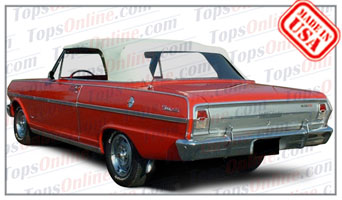 Convertible Tops & Accessories:1962 thru 1963 Chevy II & Nova