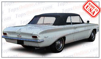 Convertible Tops & Accessories:1962 and 1963 Pontiac Lemans, Tempest & Beaumont