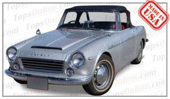 Convertible Tops & Accessories:1963 thru 1965 Datsun Sports 1500 SPL310 Fairlady