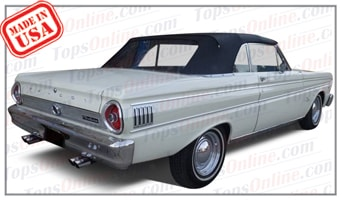 Convertible Tops & Accessories:1963 thru 1965 Ford Falcon Futura & Falcon Futura Sprint