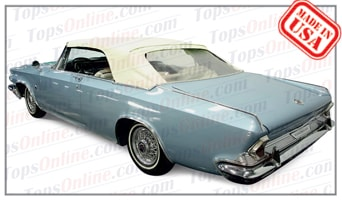 Convertible Tops & Accessories:1963 and 1964 Chrysler 300, 300K & Newport