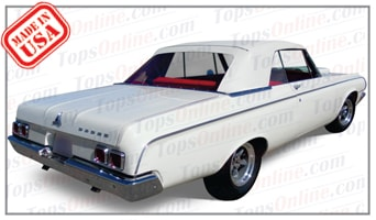 Convertible Tops & Accessories:1963 and 1964 Dodge Polara & Polara 500 (B Body)
