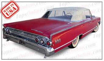 Convertible Tops & Accessories:1963 Mercury Monterey & Monterey S-55
