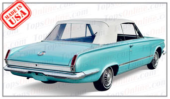 Convertible Tops & Accessories:1963 and 1964 Plymouth Valiant & Valiant Signet (A Body)